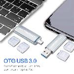 Wansenda USB3.0 OTG MicroUSB ขายส่งแฟลชไดร์ฟ Premium