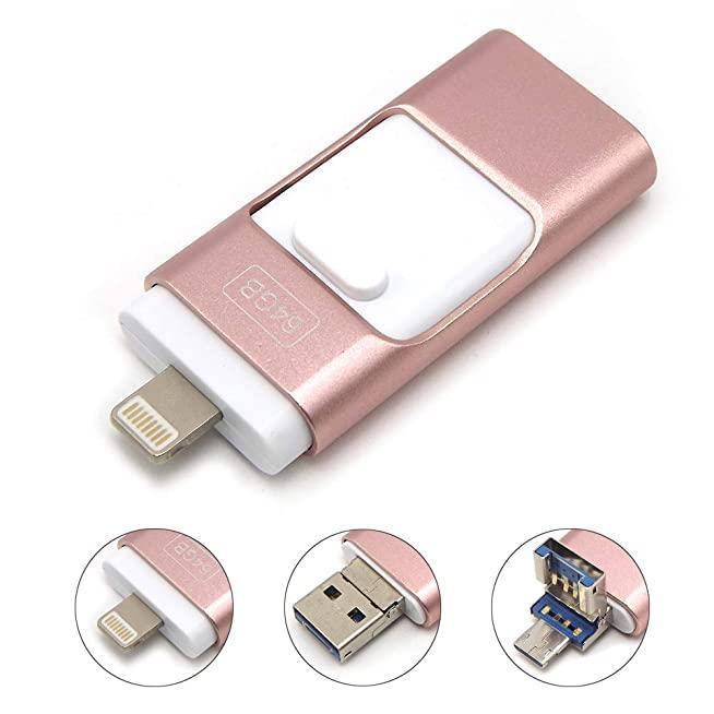 แฟลชไดร์ฟไอโฟน แท้ Tipmant Memory-Stick Smartphone 256gb