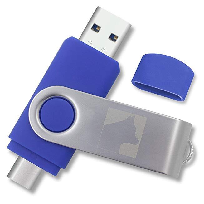 รับทำ Type-C USB-Memory-Stick 64GB ขายส่งแฟลชไดร์ฟ Premium