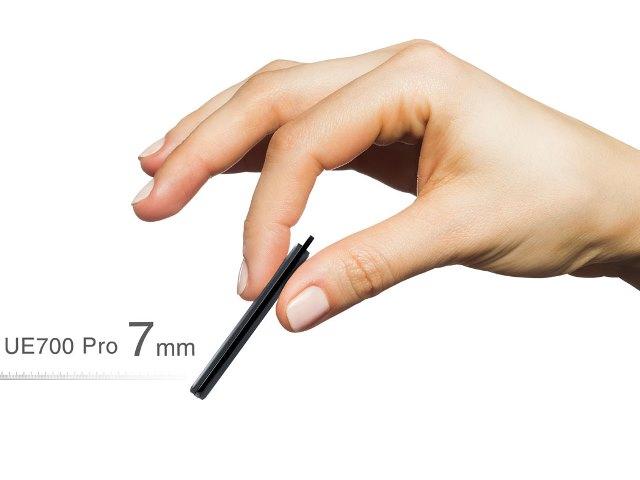 รับทำ แฟลชไดร์ฟ โคตรบางเฉียบ กะทัดรัด พกพาสะดวก มีรูให้คล้องสาย (USB 3.1)