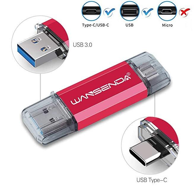 ขายส่งแฟลชไดร์ฟ พรี่เมี่ยม USB3.1 OTG USB-C 2in1 Premium