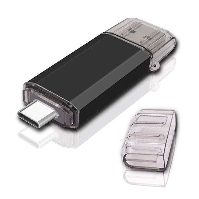 รับทำ ขายส่งแฟลชไดร์ฟ ราคา USB3.0 USB-C LG-V30 Blue premium